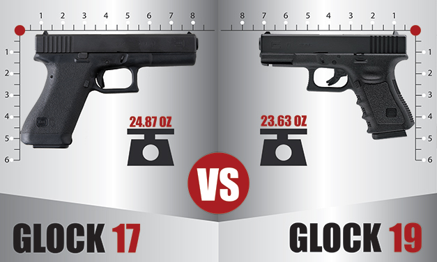 Glock 17 vs Glock 19 – Which One Is Better?